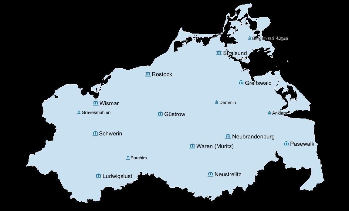 Greifswald Karte.Startseite Justiz Online In M V